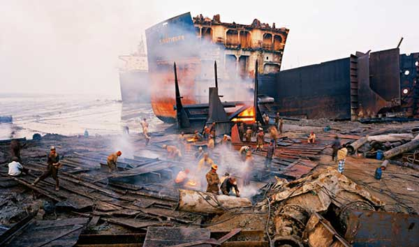 разделка и резка судна на металлолом